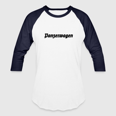 Panzerwagen - German Armored Car - Baseball T-Shirt