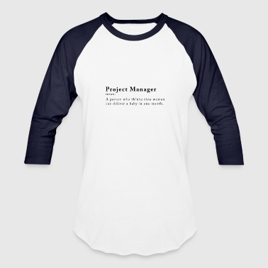 Fun Project manager - Baseball T-Shirt