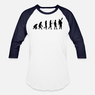 Drunkard Evolution Partying Reveller Fun Present Cool Drunk - Baseball T-Shirt