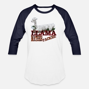 Llama Jokes Llama - Unisex Baseball T-Shirt