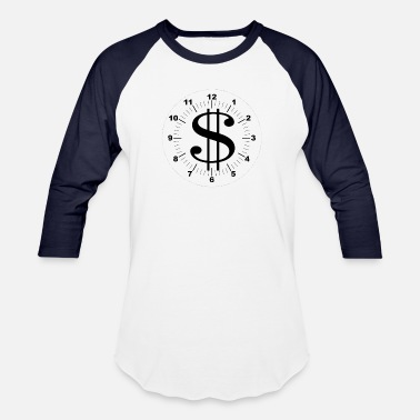 Time Is Money TIME IS MONEY - Baseball T-Shirt