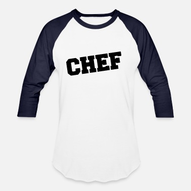 Firma weird chef - Baseball T-Shirt