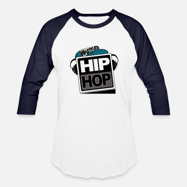 Hip Hop Hip Hop - Baseball T-Shirt