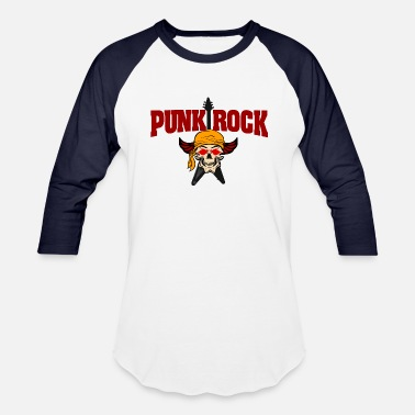 Punk-rock punk rock - Unisex Baseball T-Shirt