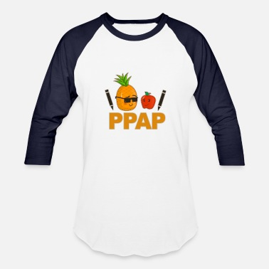 Pen Pen Pineapple Apple Pen - Unisex Baseball T-Shirt