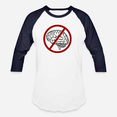Idiocracy Idiocracy No Brain - Baseball T-Shirt