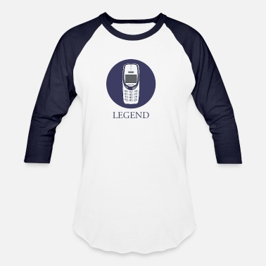 Mobile Phone mobile phone legend - Unisex Baseball T-Shirt