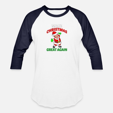 Christmas Trump christmas shirt trump sweater - Baseball T-Shirt