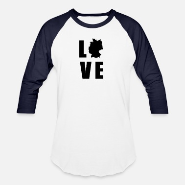 Welfare State Germany LOVE german - Baseball T-Shirt