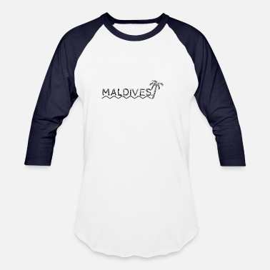 Maldives Maldives - Baseball T-Shirt