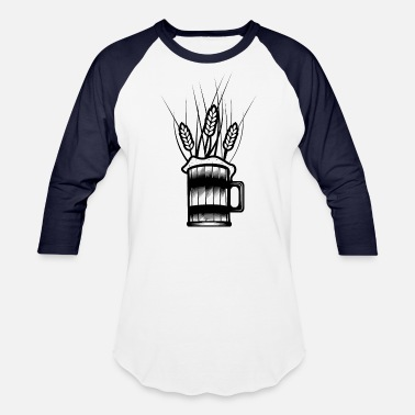 Wheat Beer wheat beer - Unisex Baseball T-Shirt