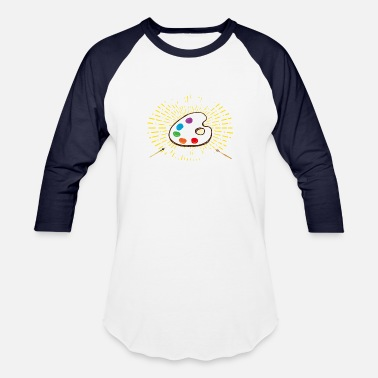 Light Painting Retirement Plan Painting (light) - Unisex Baseball T-Shirt