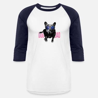 37bfe763 Pug Dog Lover World's Best Dog Dad Ever Fashion - Unisex Baseball.  Unisex Baseball T-Shirt