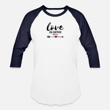 Bible Verse Love One Another, Bible Verse - Unisex Baseball T-Shirt