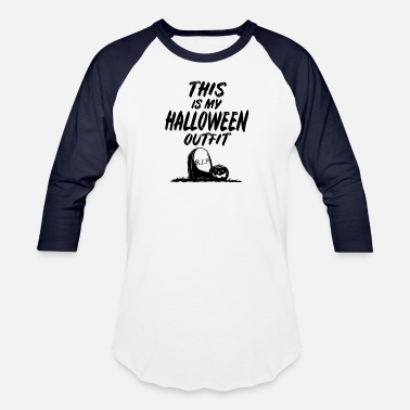 Paranormal This is my halloween outfit costume - Unisex Baseball T-Shirt