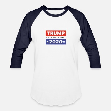 Trump 2020 - Keep America Great - Unisex Baseball T-Shirt