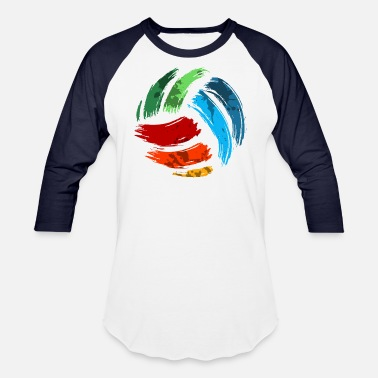 Teamsport Volleyball , teamsport giftidea, ballsport, - Unisex Baseball T-Shirt