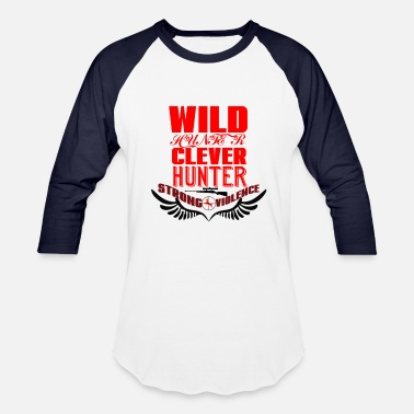 Clever Wild Hunter Clever  - Baseball T-Shirt