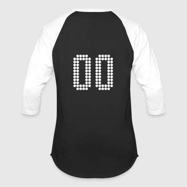 00, Numbers, Football Numbers, Jersey Numbers - Baseball T-Shirt