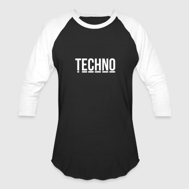 techno music club minimal Detroit Sound DJ Djane - Baseball T-Shirt