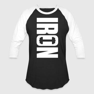 IRON WEIGHTS - Baseball T-Shirt