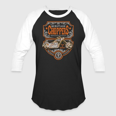 Heritage Choppers - Baseball T-Shirt