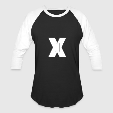 iPhone x iphone mobile apple stylish cool - Baseball T-Shirt