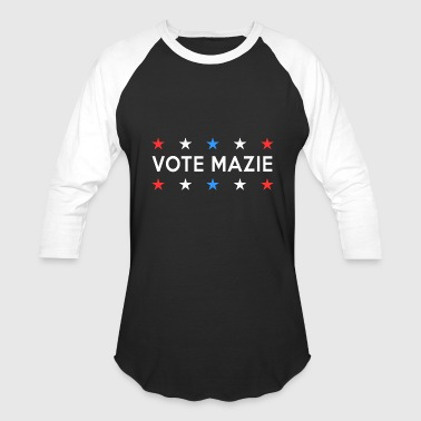Dnc Vote Mazie Hawaii Midterm Election Patriotic - Baseball T-Shirt