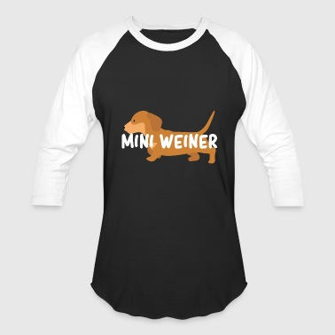 Weiner Mini Weiner - Baseball T-Shirt