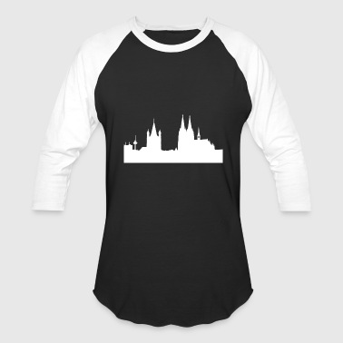 Cologne Dom germany colonia carneval gift idea - Baseball T-Shirt