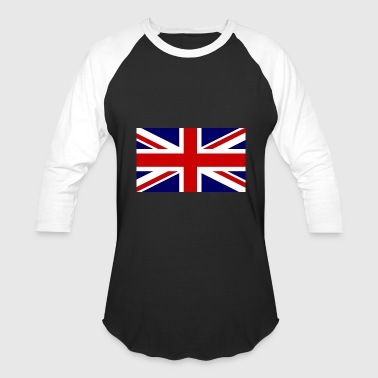 Great Britain Flag Great Britain flag, England flag, great britain - Baseball T-Shirt