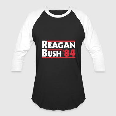 Reagan Bush - Reagan Bush '84 - Baseball T-Shirt