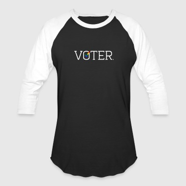 Voter Two-Toned Shirt - Baseball T-Shirt
