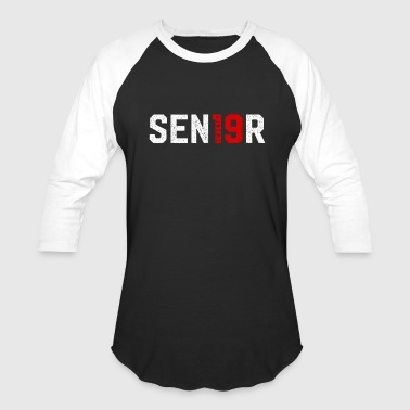 Senior Senior Class of 2019 Gift Tee - Baseball T-Shirt