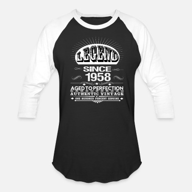 1958 LEGEND SINCE 1958 - Baseball T-Shirt