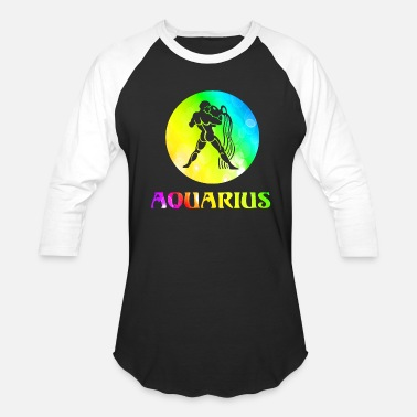 Aquarius Astrology Aquarius Astrological Sign - Baseball T-Shirt
