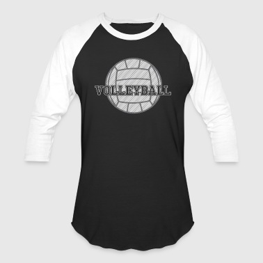 Volleyball Ball - Baseball T-Shirt
