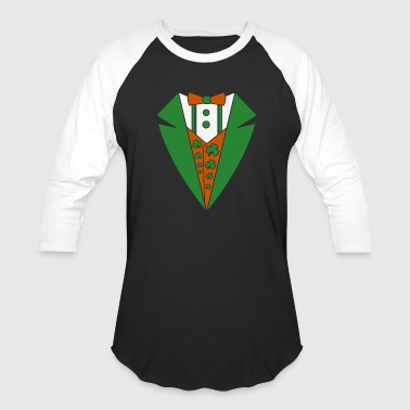Tuxedo Irish Costume - Baseball T-Shirt