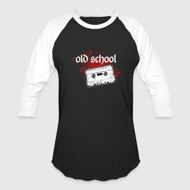 Old School Tape old school music tape - Baseball T-Shirt