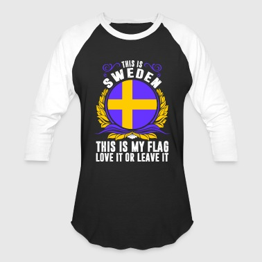 This Is Sweden - Baseball T-Shirt
