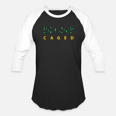 Cage CAGED - Baseball T-Shirt