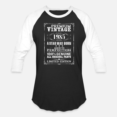 31th Birthday PREMIUM VINTAGE 1985 - Baseball T-Shirt