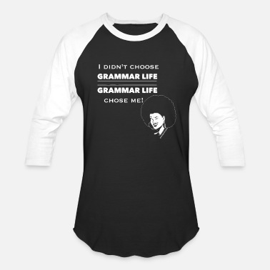 English Grammar Life Afrolicious - Baseball T-Shirt