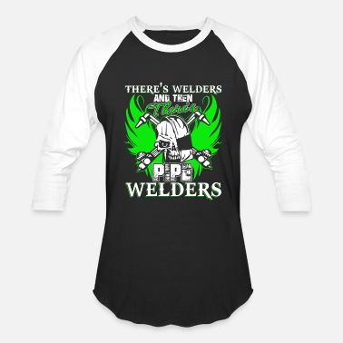 Pipe There's Pipe Welder T Shirt - Baseball T-Shirt