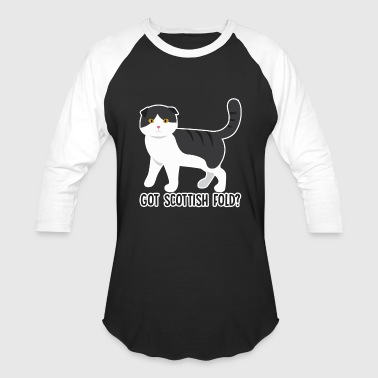 Fold Scottish Fold Shirt - Baseball T-Shirt