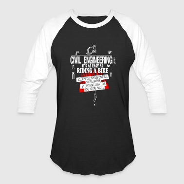 Civil Engineering Civil Engineering Shirts - Baseball T-Shirt