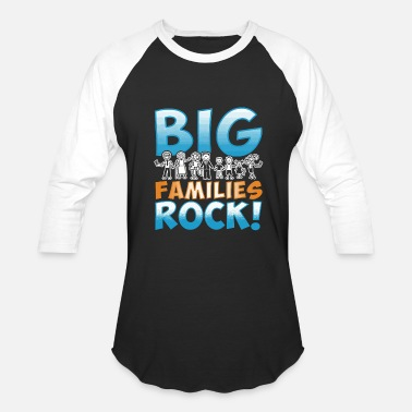 Rocking Family Big Families Rock Family Reunion - Baseball T-Shirt