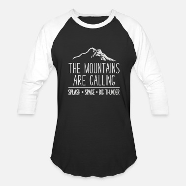 Mount Mount are - Baseball T-Shirt