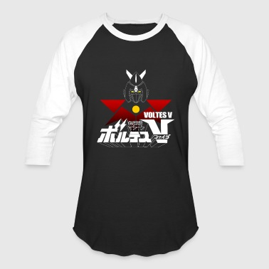 Voltes JAPAN CLASSIC RETRO ANIME ROBOT VOLTES V FIVE - Baseball T-Shirt