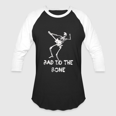 Skeleton Guitar Skeleton Electric guitar rocker - Baseball T-Shirt